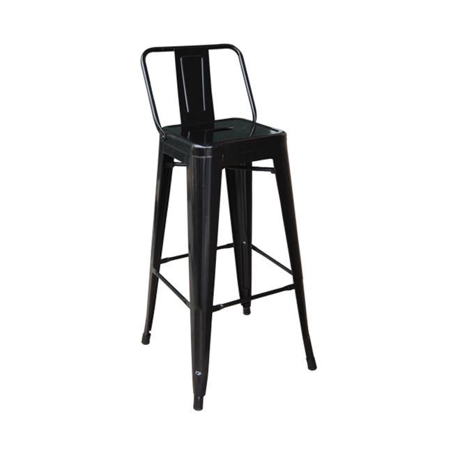 черен метален бар стол E 5199,1