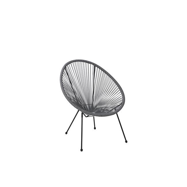 сив,градински стол acapulco grey