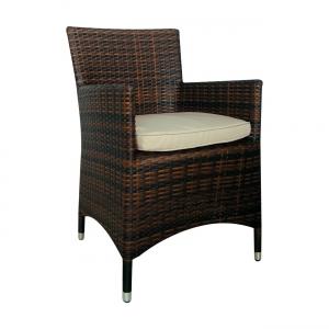 кафяв стол от изкуствен ратан Bostonian