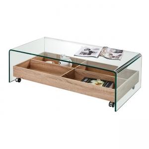 стъклена холова маса Glasser EM 842