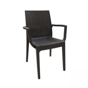 кафяв градински стол dafne brown