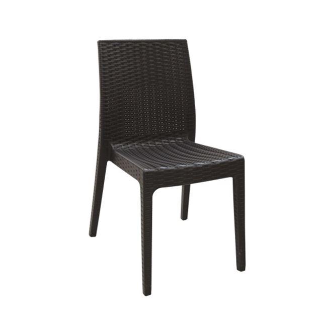 кафяв градински стол dafne brown chair