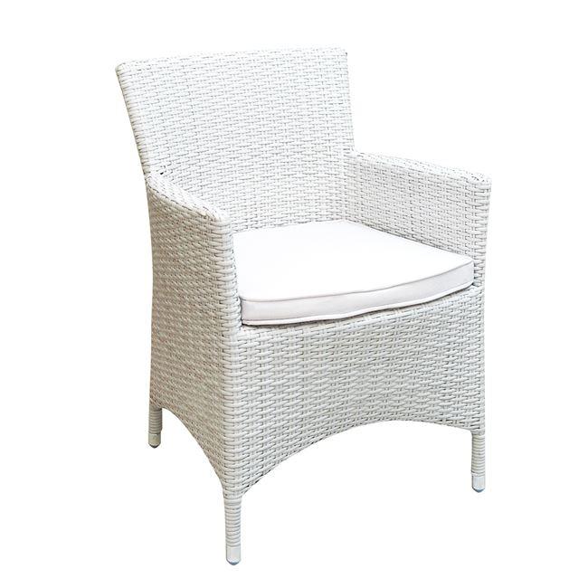 бял стол от изкуствен ратан e-00010624-enlarge