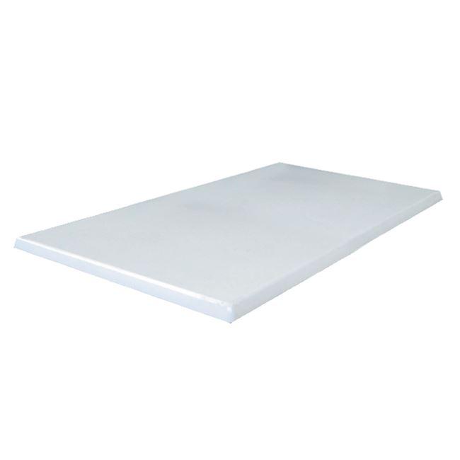 бял верзалитов плот white 120x80,110x70
