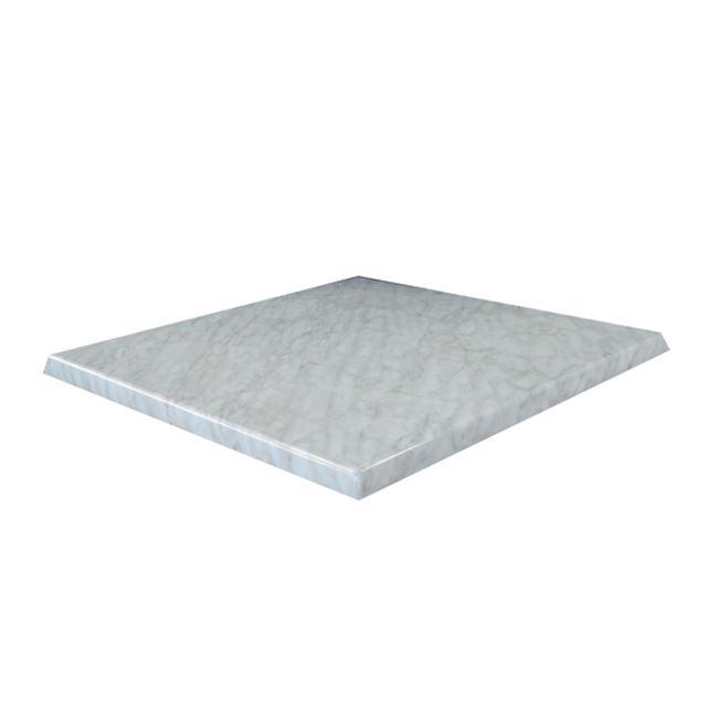 Верзалитов плот Мрамор white marble 80x80,70x70,60x60