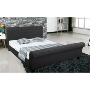 легло,спалня,дамаска,сиво,дърво,Е 8052.5