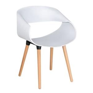 бял стол,дърво,полипропилен,НМ 8600,1