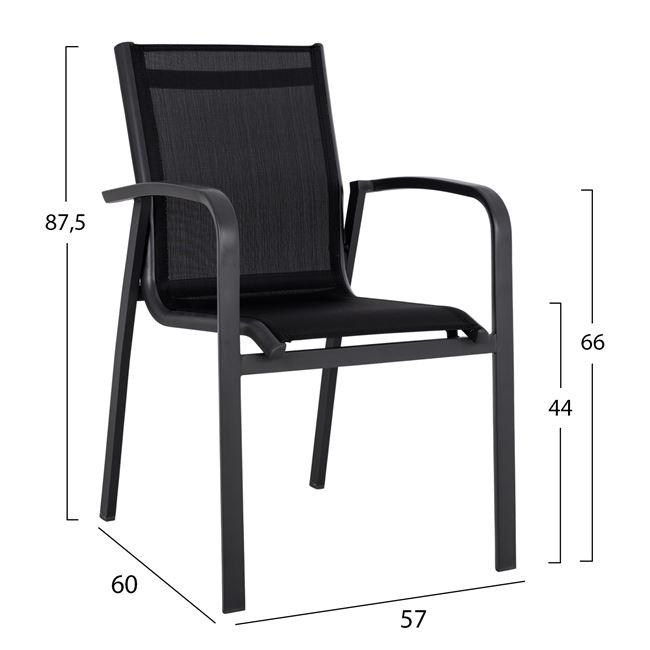 Aluminium armchair  НМ 5281