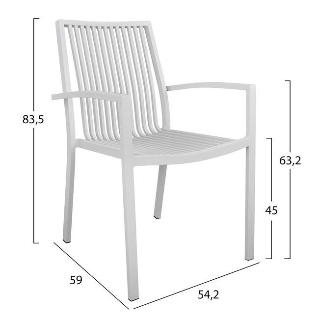 Алуминиев стол НМ5130