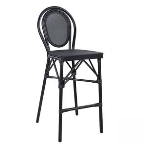 бар стол,Алуминий,черен,НМ 5060