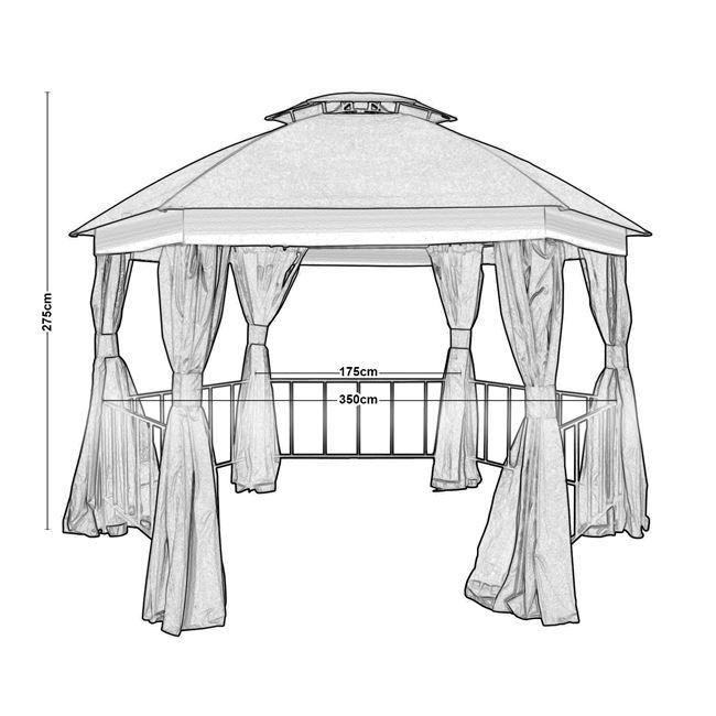 Градинска шатра Газебо