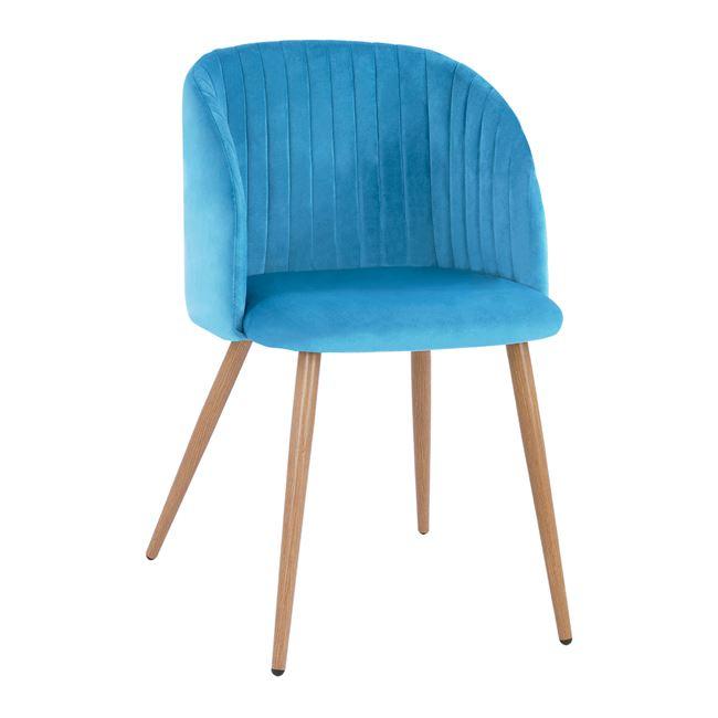 син,метален,трапезен стол,НМ8543.09