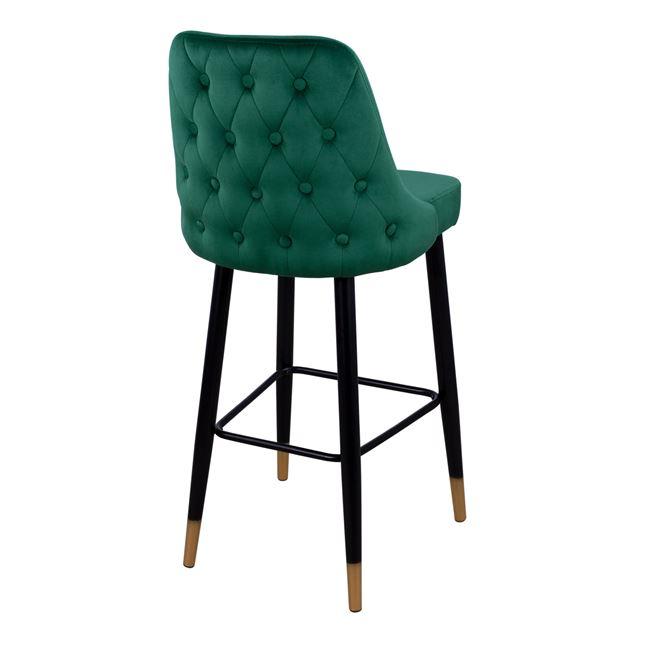 Бар стол НМ 8519, зелен