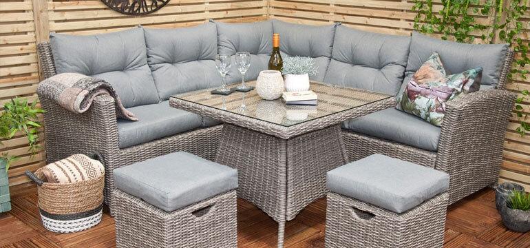 Видове градински мебели – 2 част