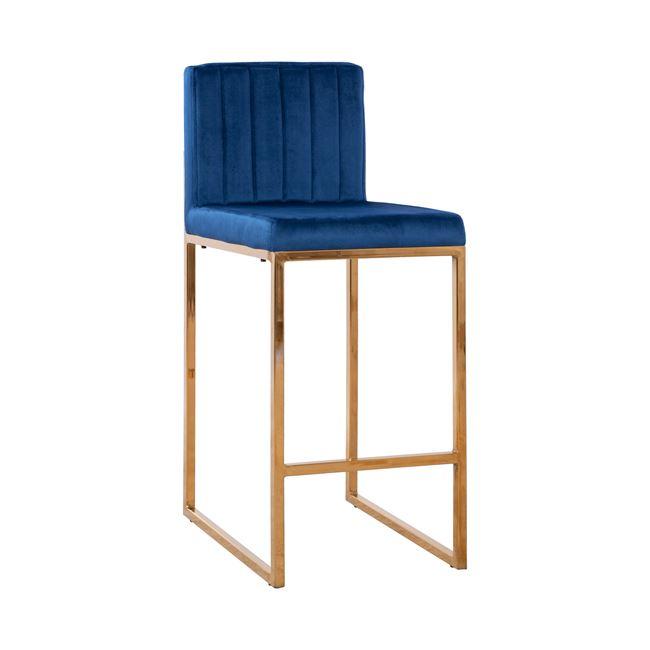 Бар стол НМ 8525 - син