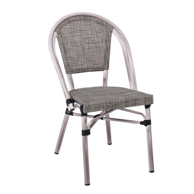 алуминиев стол,Е 288,1,сив,градински,текстилен