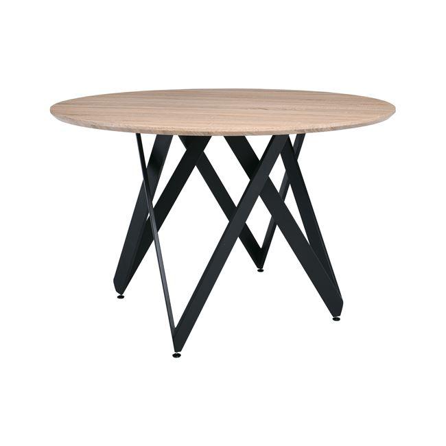 Трапезна,метална,дървена маса ROD 120