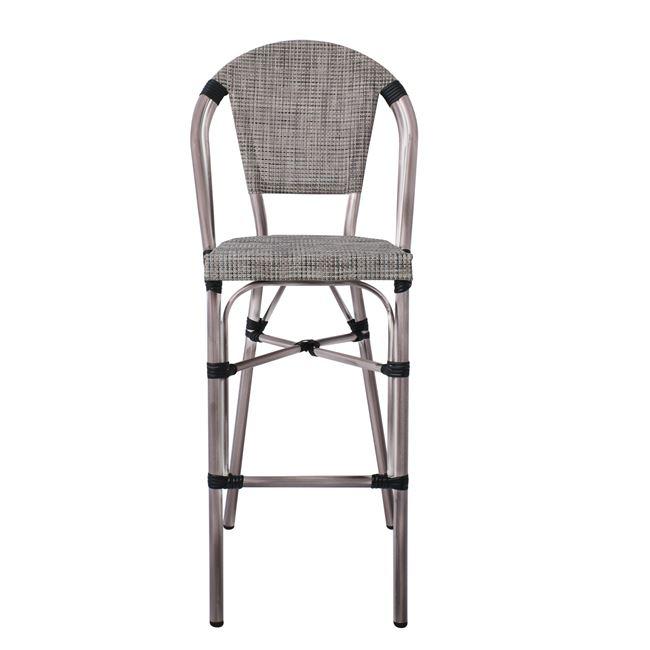 алуминиев бар стол,сив,кафявградински ,costa.