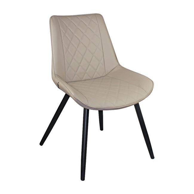 Метален стол ,бежов ЕМ 169,3