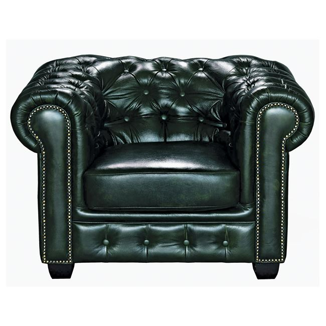 честърфилд,кресло,кожа,елено,Е 9574,13